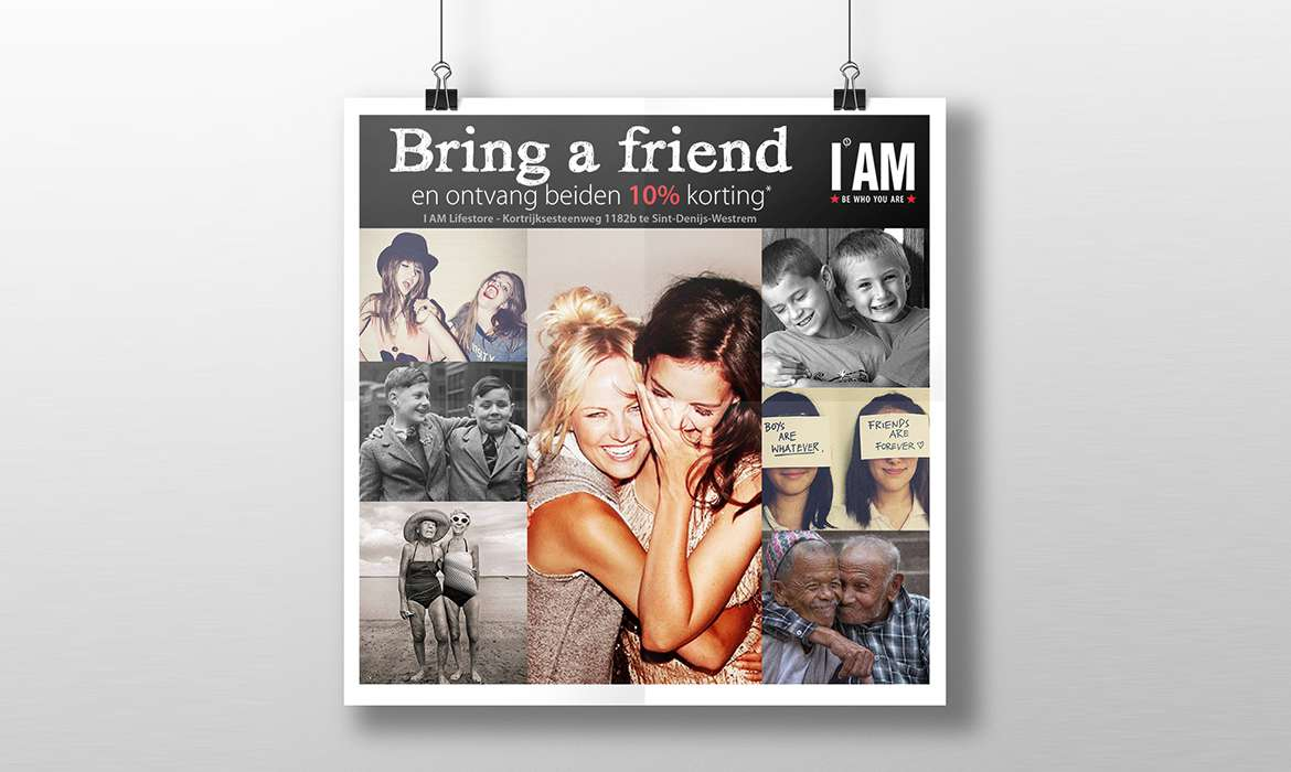 Bring-a-friend Flyer I AM Lifestore