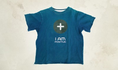 I AM Positive T-shirt concept