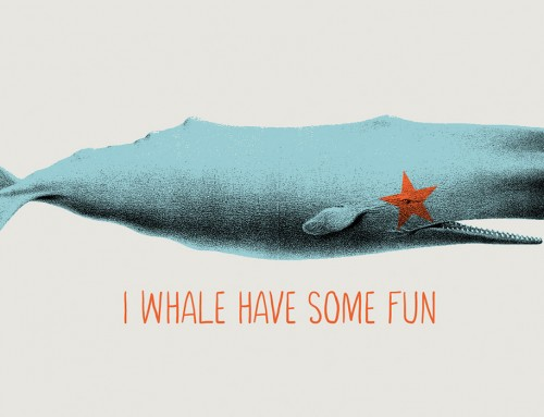 I whale have some fun T-shirt design