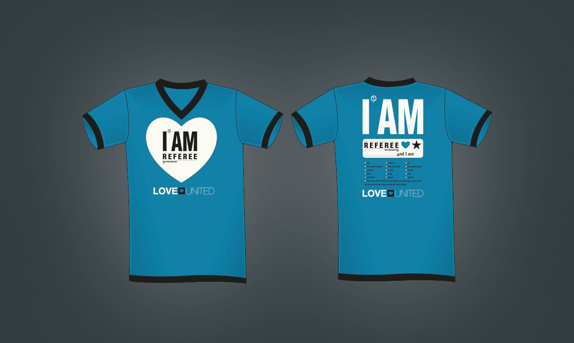 I AM Love Games T-shirt design